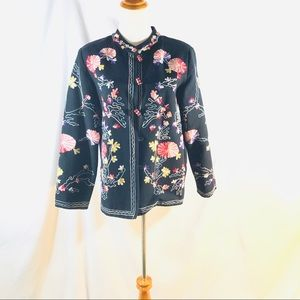 Drapers & Damon's Embroided Jacket